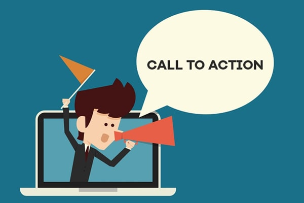 add call to actions in the end of blog post