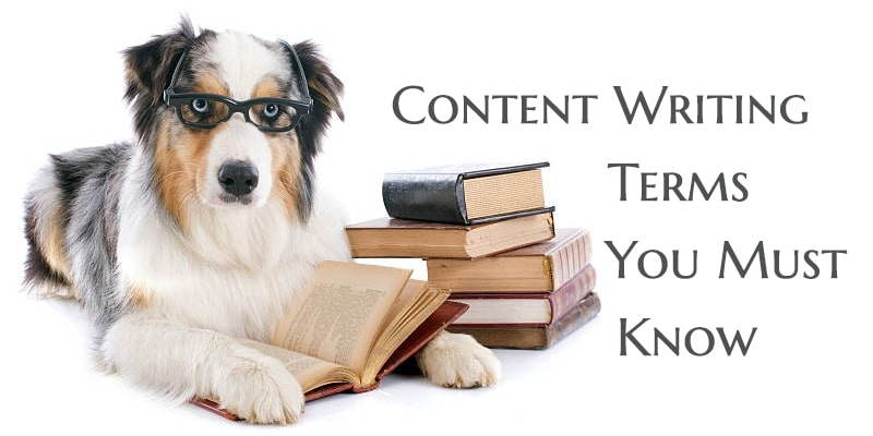 content writing and copywriting glossary