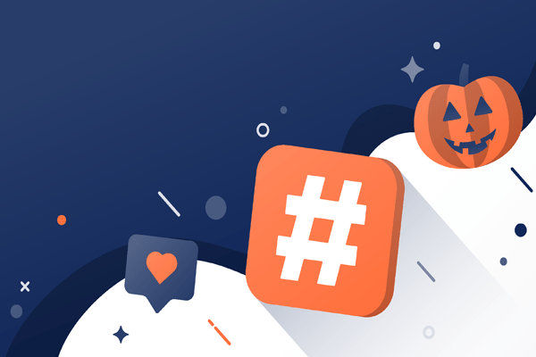 create haunting hashtags