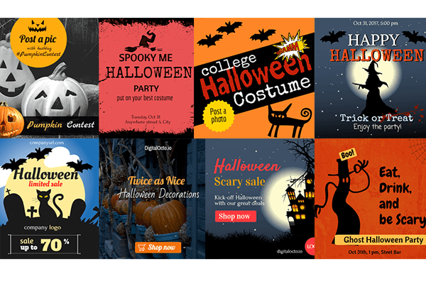 bone chilling halloween ads