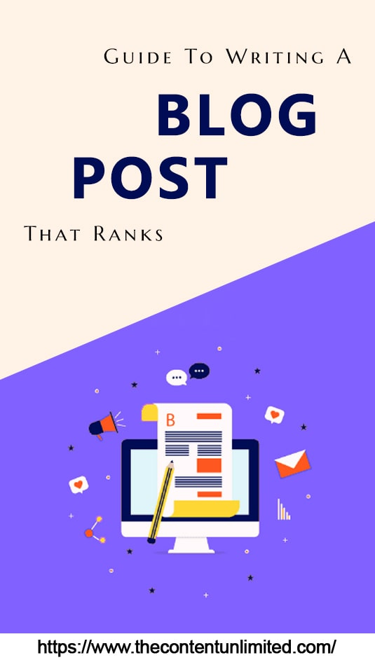 guide to creating a good blog post pinterest