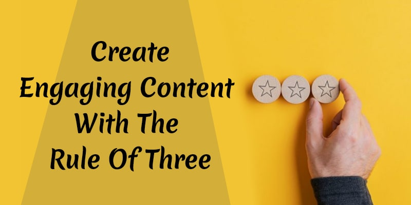 write with the rule of 3